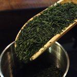 茶々工房 - 新茶 緑が鮮やかです