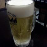 集っこ - 生ビール、いきます