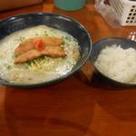 鳥料理 有明 - 【2013年長月(9月)】軍鶏水炊きラーメン