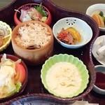 日本料理 うめ野 - うめ膳1,680円(2013.10.4)