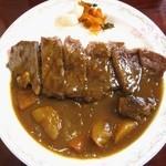 レストラン仏区里屋 - 鳥取黒毛和牛ステーキカレー