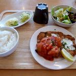 野菜屋ネロ チャコール グリル - ミラノ風カツレツです。