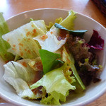 野菜屋ネロ チャコール グリル - サラダです。