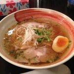 山形屋西洋酒場 - 鶏ガラあっさり煮干しラーメン 600円♪(第一回投稿分③)