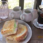 椿屋珈琲店 - ホットサンドセット