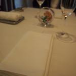 ラッフィナート - テーブルセッティング