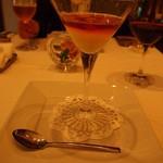 ラッフィナート - 甘い人参のスプーマ 生うにとコンソメのゼラティーナ 此処のスペシャリテ♪美味しすぎる!