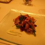 ラッフィナート - 和牛タンと温野菜サラダ