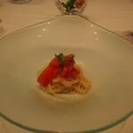 ラッフィナート - 冷たいトマトの冷たいカペリーニ