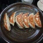 宇都宮の夢餃子 - とりあえずセットの焼き餃子