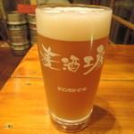 21671622 - 自家製ビール・ホワイト590円