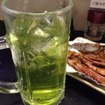 酒屋の酒場 - 緑茶ハイ