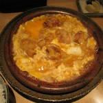 咲膳 横井 - 鶏もも肉の柳川風定食   800円