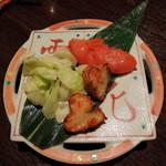 九州酒場 あじと - 2013年9月22日(日) お通し