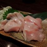 九州酒場 あじと - 2013年9月22日(日) 宮崎地鶏じとっこ刺身