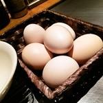 21674483 - 生卵は食べ放題