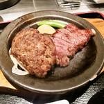 21674485 - 和牛100%ハンバーグ&黒毛和牛ステーキ