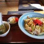 竹園 - 中華丼 \600