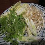 甘太郎 - 野菜盛り合わせ