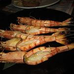 甘太郎 - 大海老塩焼き
