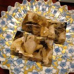 てつ虎 - フグの煮こごり最高に美味い。
