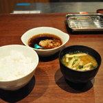 博多天ぷら たかお - 肉天定食
