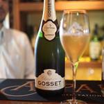 丸金 - Champagne  GOSSET  Brut