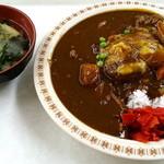 札幌市役所本庁舎食堂 - チーズバーグカレー_520円
