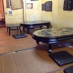 とうがらし - 韓国の民芸品、ラデンテーブル(貝殻でつくった)があり、その上に迷う事なく七輪をto put