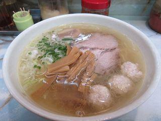 ラーメン丸仙 - 塩ラーメン2013/10