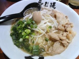永斗麺 紙屋町本店 - サンマらーめん塩