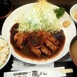 とんかつ 藤よし - とんてき定食(200g) 1100円