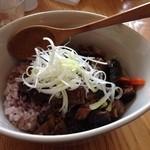つむじカフェ - 麻婆丼胡桃五穀米