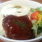 cafe est - ロコモコ丼(850円)