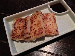 台湾料理 五味香 - 蘿蔔糕。大根餅です。