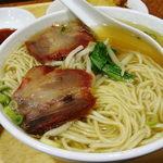福龍菜館 - 飲茶セット(汁そばアップ)