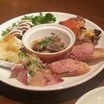 タイーム - 2013・9・30 前菜盛り