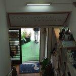 味園 - 2階から見た入口です。