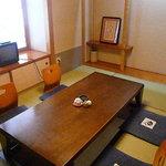 しのづか陣屋 - 掘りごたつがある4名様の個室