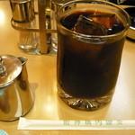 阪神構内喫茶 - アイスコーヒー