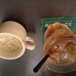 21690984 - ランチセットのジンジャエール(辛)&スープ