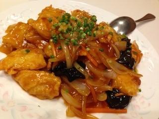 菜遊記 - 白身魚の甘酢炒め