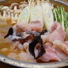 Sawaraya - 料理写真:【あんこう鍋】あん肝と合わせ味噌を練って一晩寝かせて作るどぶ出汁で♪ 身にはビタミンB12、B1、ナイアシンガ含まれていて健康維持にも効果的!