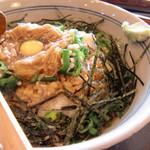 孜々庵 - 料理写真:ねばりそば(納豆入り)