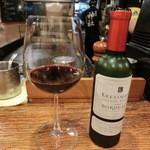 鉄板神社 - 赤ワイン
