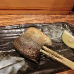 鉄板神社 - 秋刀魚