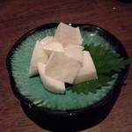 海鮮厨房 いおり膳 - 長芋の白キムチ