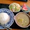 ユワデーのタイ料理 - 料理写真:グリーンカレーセット \850