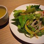 21694609 - サラダ&スープ(パンケーキランチ)