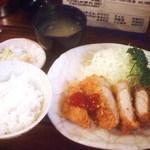 ぶんぷく - 平日ランチ限定・ロースかつ定食 880円